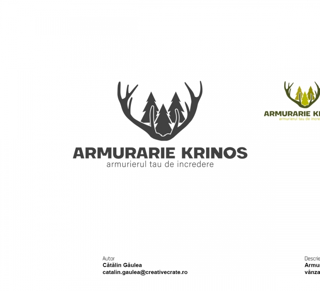 Portofoliu-Creativecrate---Logo-Armurarie-Krinos